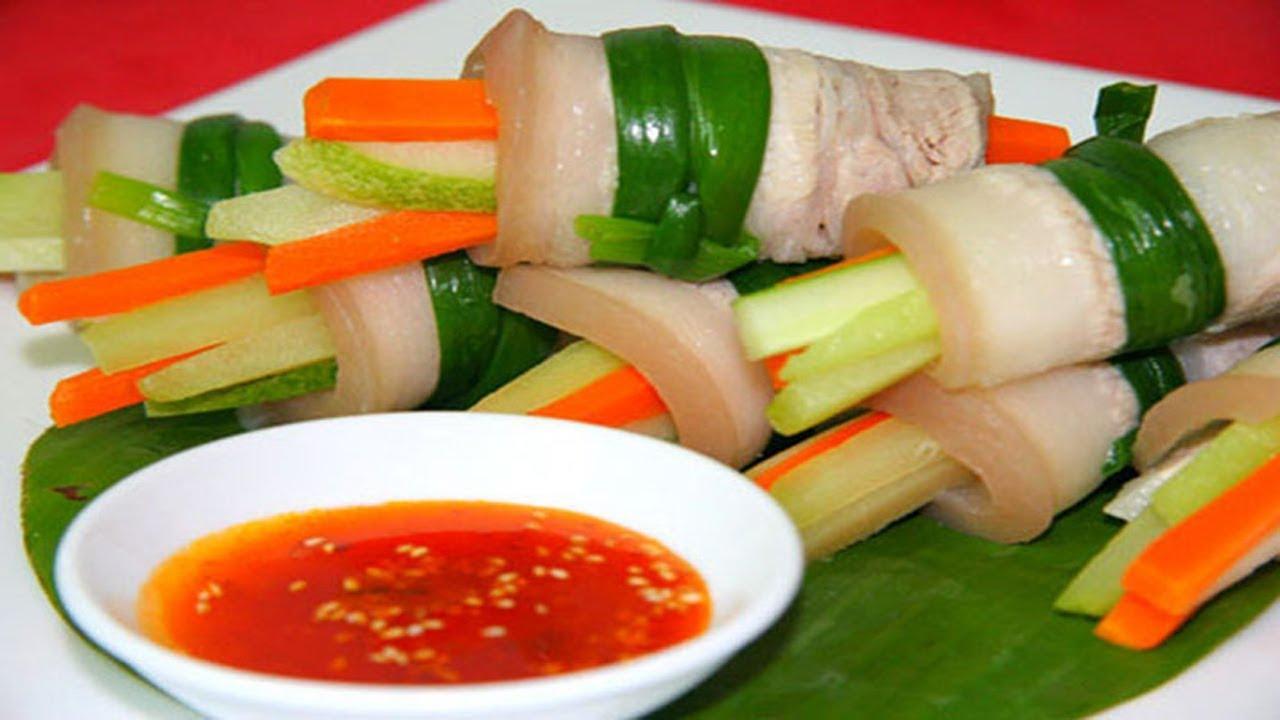 ✅ Ba Chỉ Cuộn Rau Củ Chống Ngán , Cực Ngon Và Dễ Làm   Hồn Việt Food