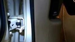 2000 Lincoln Town Car door detent repair