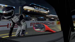 Project CARS 2 - VR at Le Mans 24 hr - Actual game play - WIP - Build 744