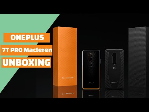 Oneplus 7t Pro Macleren Edition Unboxing and Hands On First Impressions Review