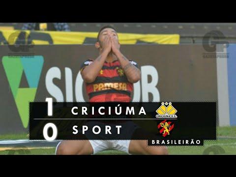 Criciúma 1 x 0 Sport | Melhores Momentos - Brasileirão SÉRIE B
