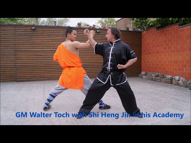 7 april 2019 Belgium Workshop Chin Na with GM Walter Toch