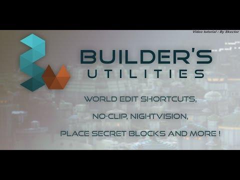 Builder Utilities - Tutorial Español/Spanish + Donwload/Descarga ( Minecraft ).