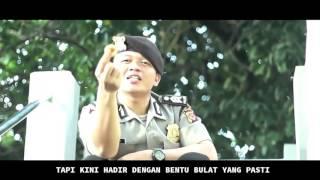 Polisi Nge Rap Lagu Tahu Bulat