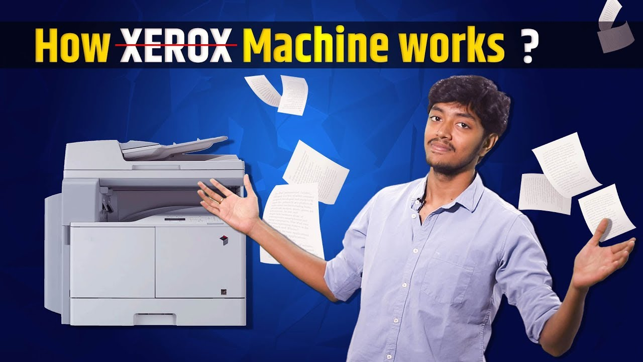 How xerox machine works? | How it works #01