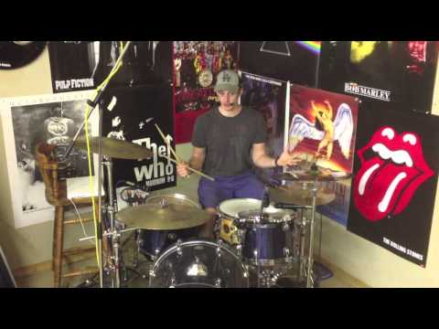Cool Drum Beat & Fill Around The Kit