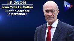 L'Etat a accepté la partition ! - Le Zoom - Jean-Yves Le Gallou - TVL