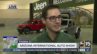 AZ International Auto Show Opens Thanksgiving Day in Phoenix