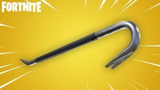 *NEW* UNLOCKING NEW CROWBAR AXE IN FORTNITE!