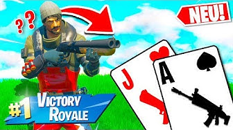 *NEU* Blackjack 21 Modus in Fortnite 2!