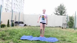 Видео-урок : Тик-так, Прыжок в кольцо, Стойка на локтях.