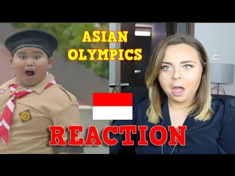 PEMBUKAAN ASIAN GAMES 2018 JAKARTA (OPENING CEREMONY)|UK  REACTION