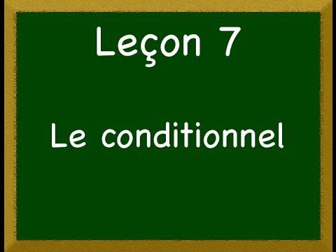 Download Leçon 7 - Le conditionnel