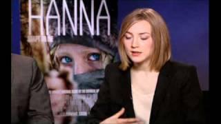 Director Joe Wright And Actress Saoirse Ronan Discuss 'Hanna'