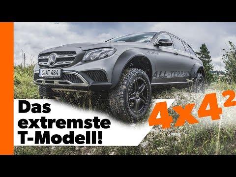 Das extremste T-Modell! Mercedes E-Klasse All-Terrain 4x4² | Technik