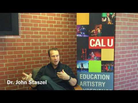 Theatre Degree at Cal U - Faculty Showcase: Dr. John Staszel