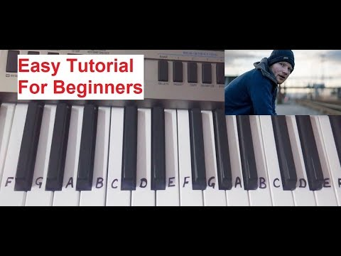 Shape of you on Keyboard Piano-Casio| Slow Tutorial for beginners