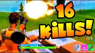 FORTNITE BATTLE ROYALE - MY BEST GAME EVER!!!!