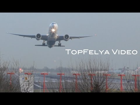 Airport non stop traffic time-lapse video Busiest in Europe