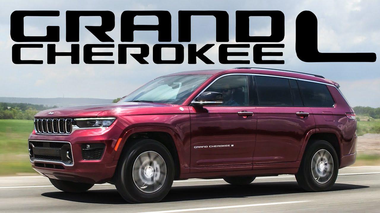 Download 2021 Jeep Grand Cherokee L Review - 3 ROW LUXURY OFF ROAD MINIVAN ALTERNATIVE!