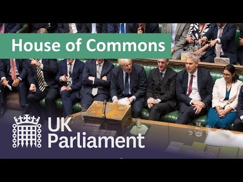 LIVE House of Commons 9 September 2019 image