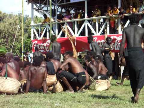 Namatanai Tumbuan Mask Festival -- Tanga Fire Eaters