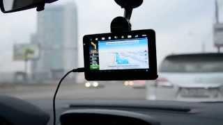 Тестовый маршрут с навигатором Prestigio