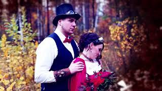 Свадебный клип в стиле стимпанк (steampunk)