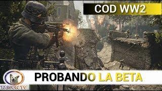 COD WW2 BETA lo Pruebo en PS4 en la Gamescom