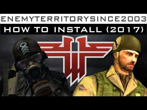 Enemy territory ultimate installer homepage.