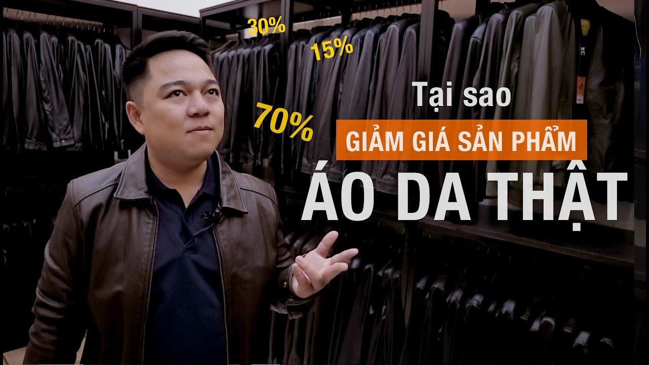 Tại sao giảm giá áo da thật 2020, Ftt leather có giảm giá sâu – FTT leather
