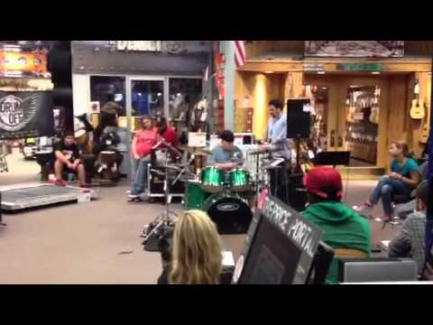 George Odom  2012 Guitar Center Drum Off Solo Performance