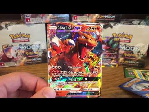 Smpratte - Pokemon Burning Shadows Booster Box Opening - Charizard GX Pull!