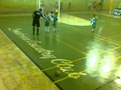 Futsal Jogo do Arena sub 09 no Londrina Country Club