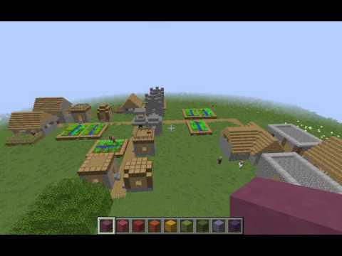 Fibonacci Village! (Mathematical Minecraft)