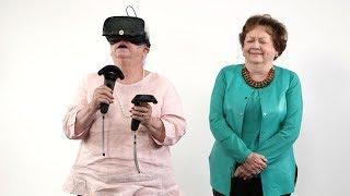 Southern Grandparents React To Virtual Reality – Bonus Cut! | Southern Living