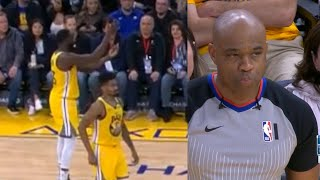 Draymond Green mocked the refs' tech and got ejected | Warriors vs Pistons