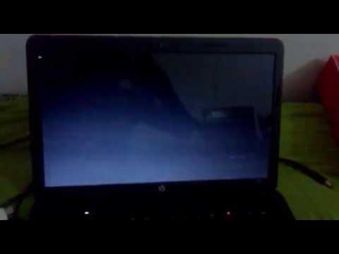 laptop screen goes black when watching youtube