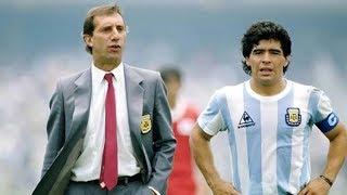 Maradona le dijo a Bilardo que no iba al Mundial 90 de Italia
