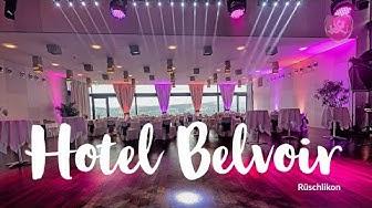 Hochzeit ♥ Heiraten im Hotel Belvoir in Rüschlikon Zürich - Hochzeits DJ Benz