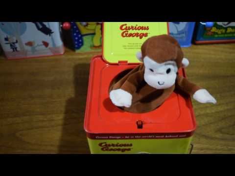 Curious George JACK IN THE BOX  TOY