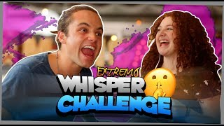 Whisper Challenge ft. Briggite Bozzo *CASTIGO EXTREMO* - Pato Gallardo