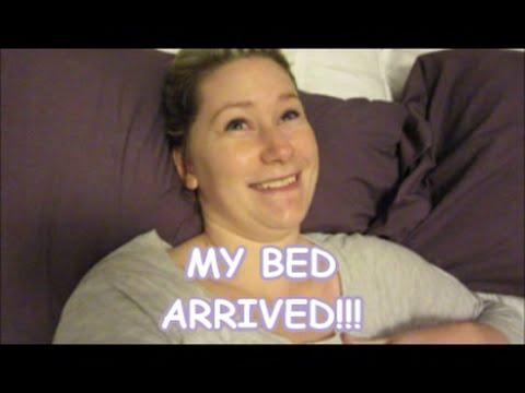 VLOG: MY BED ARRIVED!!!