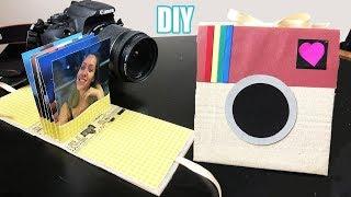 DIY Mini Álbuns de fotos de papelão