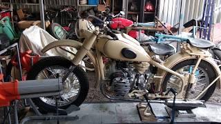 М-72 обкатка двигуна і настройка карбюраторів. Реставрація мотоцикла Ретроцикл