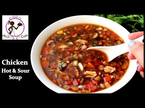 Chicken Hot and Sour Soup | Spicy Chicken Soup Recipe in Bengali | Restaurant Style Soup at Home