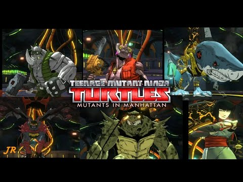 (TMNT) Teenage Mutant Ninja Turtles Mutants in Manhattans - Gameplay Part 7 ( General Krang )