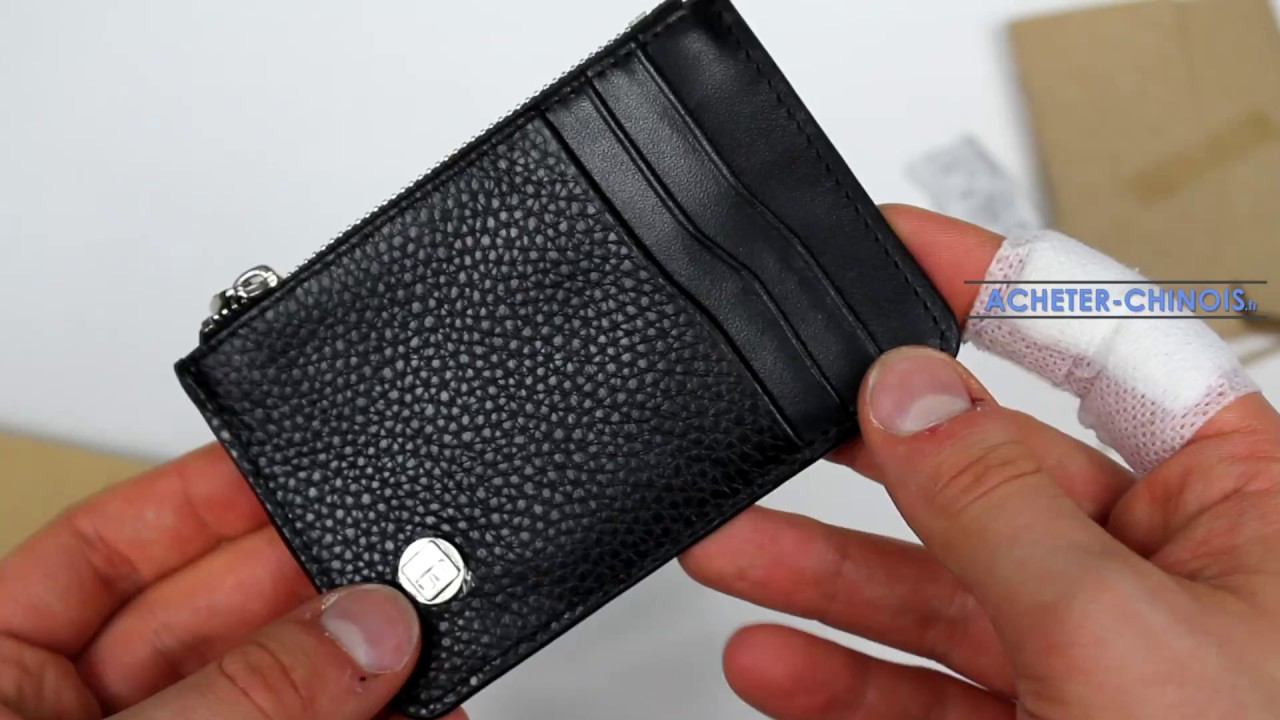 Porte Monnaie AntiRFID De Chez Amazon Unboxing Test YouTube - Porte carte anti rfid