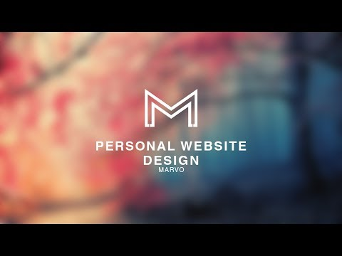 Personal Website | Marvo Designs