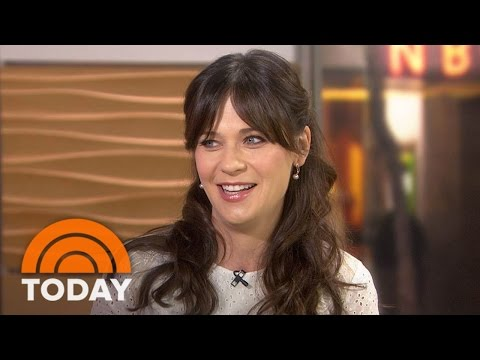 Zooey Deschanel On 'Classic' Bill Murray; Daughter Elsie Otter's Name | TODAY